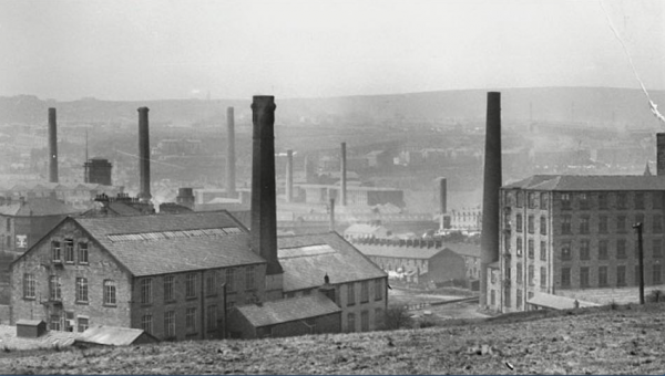 old image of Vale Mill from 1800s